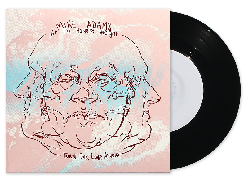 Mike Adams At His Honest Weight - Turn Our Love Around/Stay, Too Test Pressing