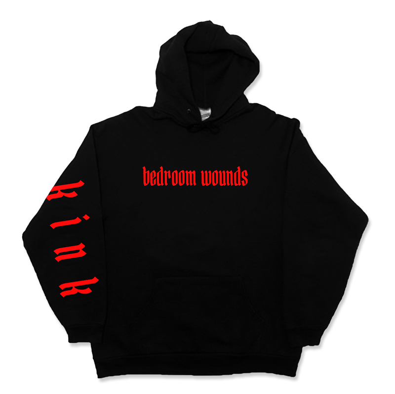 Bedroom Wounds - House On Fire Hoodie