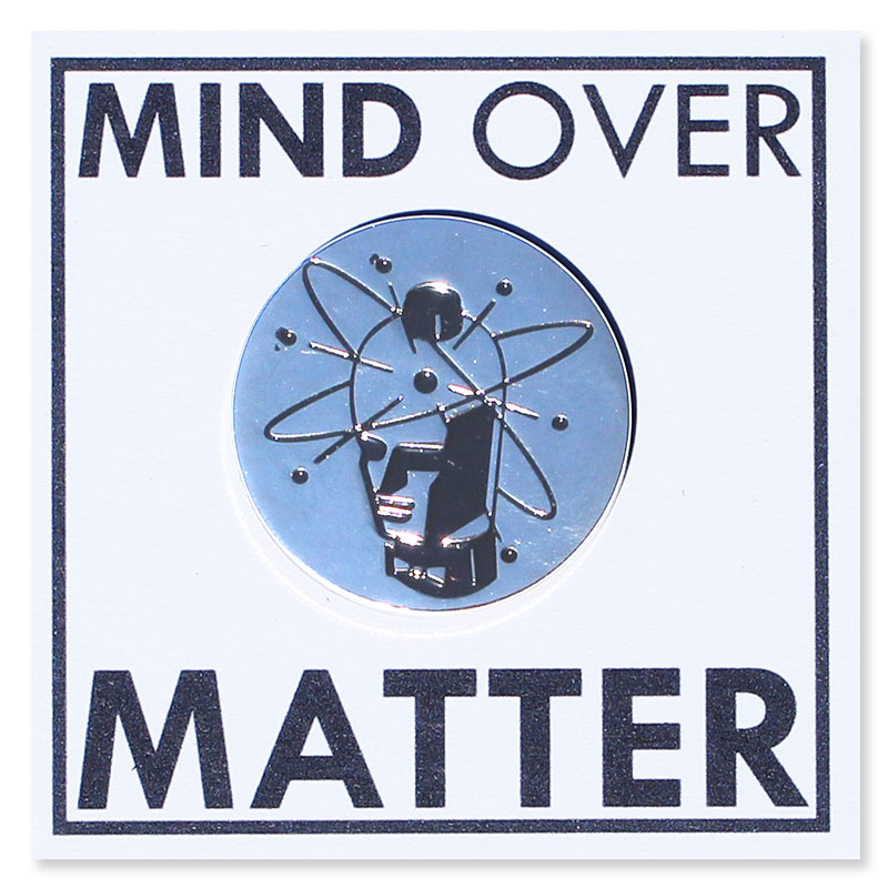 Mind Over Matter Records - 1.5in Soft Enamel Pin